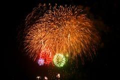 Fuegos artificiales en Japón 5 Fotos de archivo libres de regalías