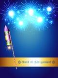 Fuegos artificiales felices del diwali
