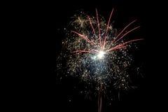 Fuegos artificiales festivos Fotos de archivo libres de regalías