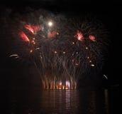 Fuegos artificiales - Ignis Brunensis Fotos de archivo libres de regalías