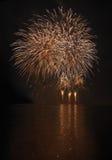 Fuegos artificiales - Ignis Brunensis Fotos de archivo