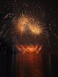 Fuegos artificiales - Ignis Brunensis Imagen de archivo libre de regalías