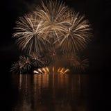 Fuegos artificiales - Ignis Brunensis Fotografía de archivo