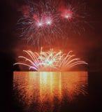 Fuegos artificiales - Ignis Brunensis Fotografía de archivo libre de regalías