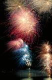 Fuegos artificiales a montones Foto de archivo libre de regalías