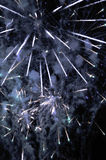Fuegos artificiales - visualización de la explosión de la estrella Imagen de archivo