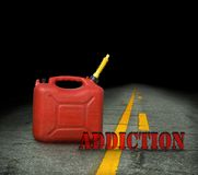 Fuel addiction Royalty Free Stock Photography