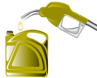 Fuel benzine Royalty Free Stock Images