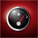 Fuel button Royalty Free Stock Photos
