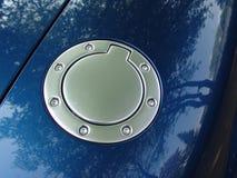 Fuel cap 001. Fuel cap of a new Audi. Mai 2006 stock photo