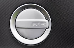 Fuel cap of an Audi R8 Royalty Free Stock Photo