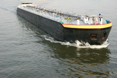 Fuel Cargo Ship Stock Image