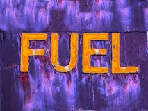 Fuel Danger Royalty Free Stock Photos