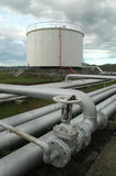 Fuel depot stock images
