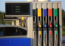 Fuel dispenser Stock Images