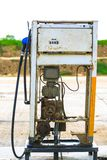 Fuel dispenser is a machine at a filling station Royalty Free Stock Photo