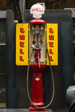 Fuel dispenser SATAM Typ MO2, France-Germany, nickname Iron maiden Royalty Free Stock Image