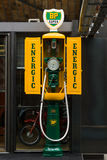 Fuel dispenser SIAM, France, nickname Iron maiden Royalty Free Stock Photos