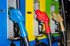 Fuel dispenser Stock Photo