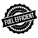 Fuel efficient stamp Stock Images
