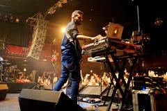 Fuel Fandango (electronic, funk, fusion and flamenco band) performs at Apolo Royalty Free Stock Photos