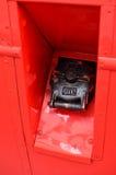 Fuel filler cap. Stock Images