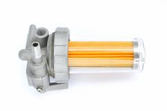 Fuel filter on Royalty Free Stock Photo