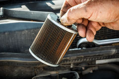 Fuel filter royalty free stock photo