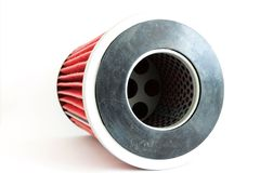 Fuel filter for engine car Royalty Free Stock Photos