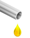 Fuel or gas droplet Stock Image