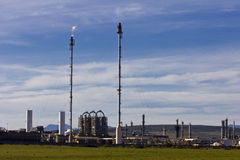 Fuel and Gas refinery Stock Photos