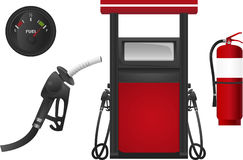 Fuel Gas Station Stock Images