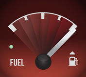 Fuel gas tank illustration design Stock Images
