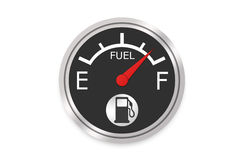 Fuel Gauge. High Resolution Image Royalty Free Stock Images