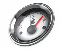 Fuel gauge Stock Image