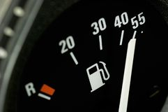 Fuel gauge Royalty Free Stock Photos