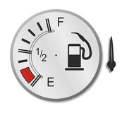 Fuel gauge Royalty Free Stock Image