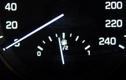 Fuel gauge Royalty Free Stock Photography