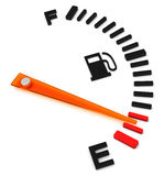 The fuel gauge Royalty Free Stock Photography