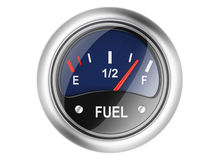 Fuel gauge. Stock Photography