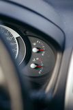 Fuel gauge dash board Stock Photography
