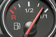 Fuel Gauge Full Royalty Free Stock Photo