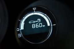 Fuel Gauge Full Royalty Free Stock Image