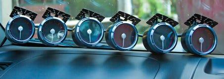 Fuel gauge. Stock Photos