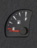 Fuel gauge Royalty Free Stock Photos