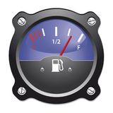 Fuel gauge. Vector illustration. EPS-10 Stock Photography