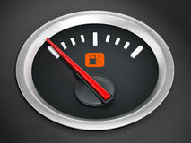 Fuel gauge Royalty Free Stock Photo