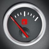 Fuel gauge Stock Image