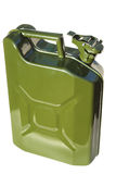 Fuel green canister Royalty Free Stock Photo