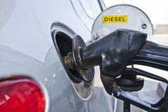Fuel hose. Detail of gasoline refueling hose Stock Photos